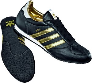 adidas schwarz gold schuhe mit
