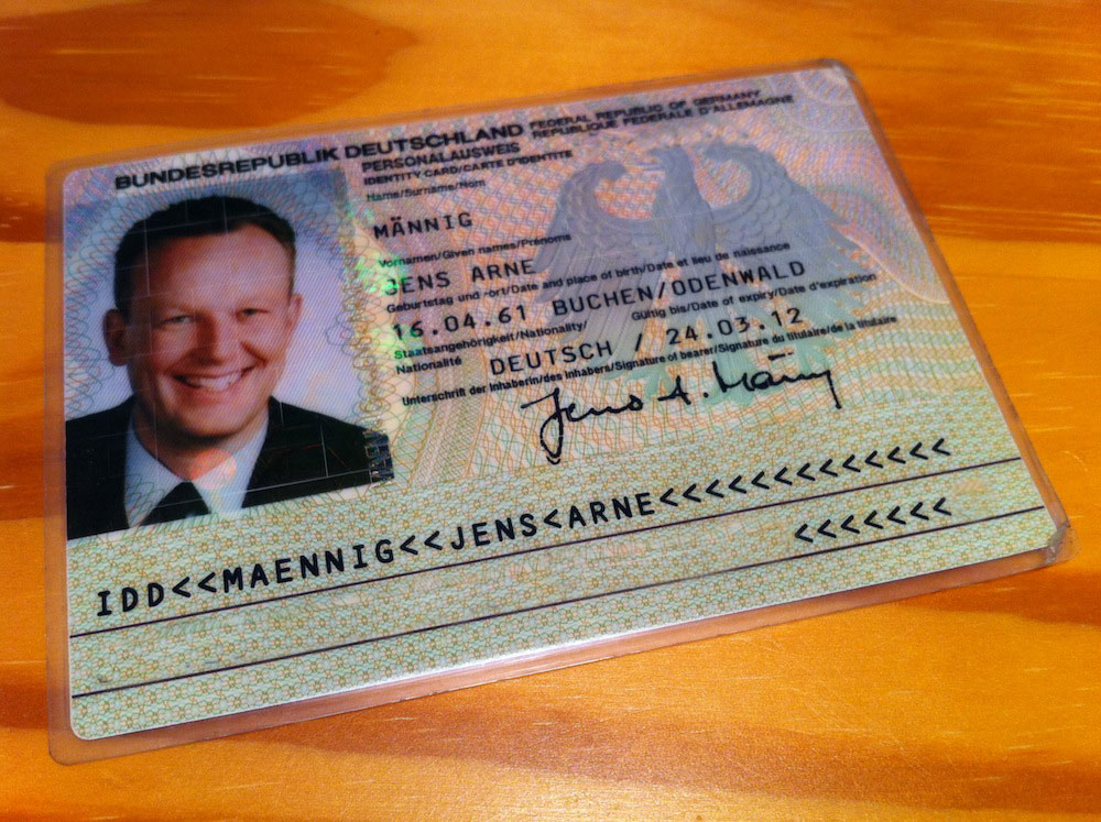 Personalausweis Faken